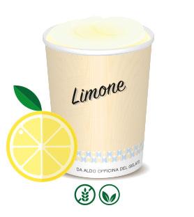 da Aldo produkt - Citronsorbet
