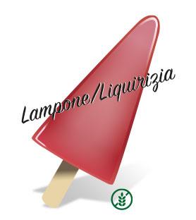 da Aldo produkt - Pinnglass Lampone/Liquirizia